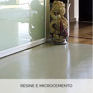 RESINE E MICROCEMENTO